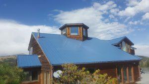 new house roof Boulder Colorado exposed fastener metal