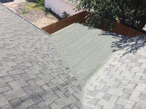 denver house 2544 shingles and rubber membrane