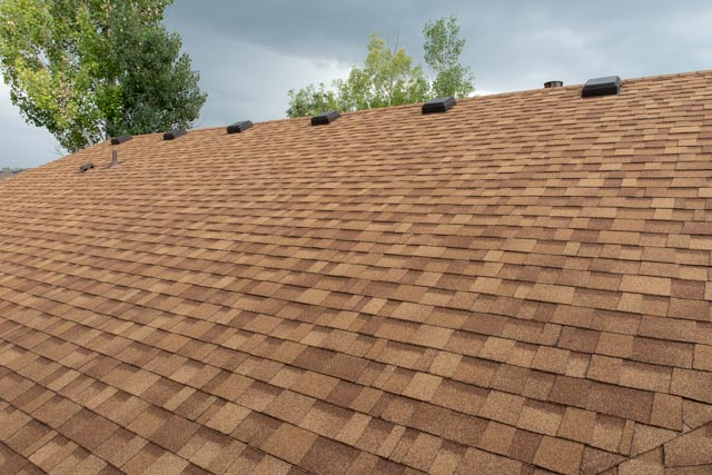 asphalt shingles new house roof