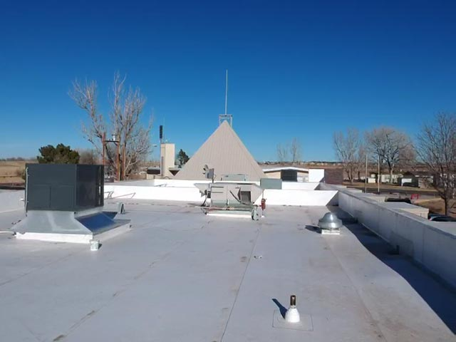 commercial roof for Farmers Reservoir & Irrigation