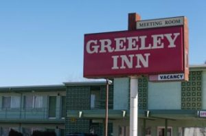 recent new commercial roofing project for Greeley Inn