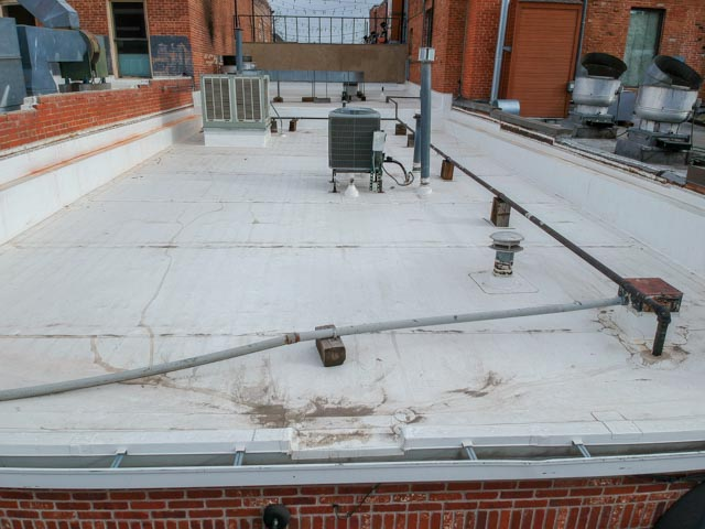 flat roof of LuLu Asian Bistro view 2