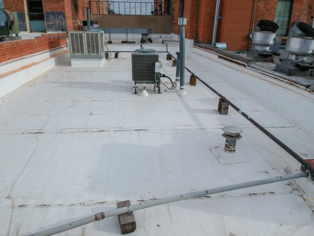flat roof of LuLu Asian Bistro view 1
