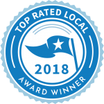 Bob Behrends Roofing and Gutters awarded Top Rated Local's 2018 Award