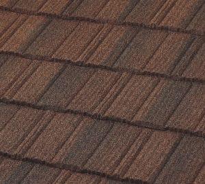 metal shake roof.