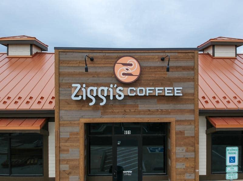 Ziggi's Coffee storefront