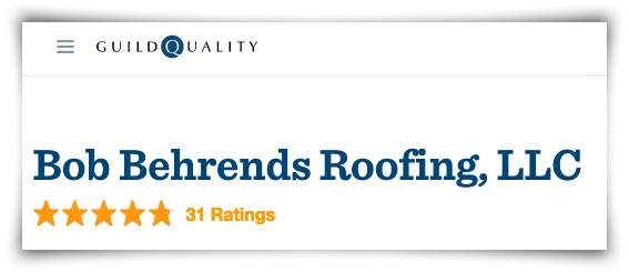 bob behrends roofing ratings on guild quality