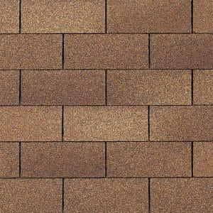 common 3-tab asphalt roofing shingles