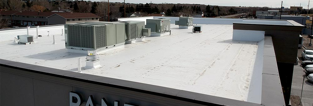 pvc roof on commercial building