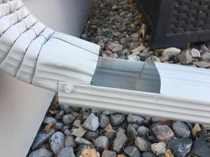 downspout with extension