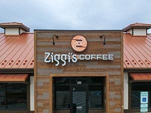 new metal roof for Ziggi's Coffee