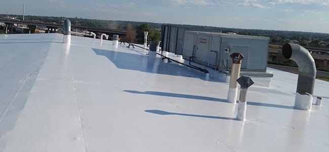 new single membrane roof