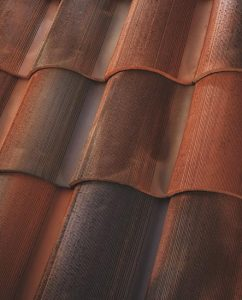 new clay roofing tile